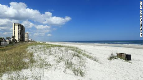 Jacksonville beaches reopen in Florida as states begin to relax home stay restrictions