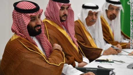 Arabia Saudita's il Principe ereditario Mohammed bin Salman è il presidente dell'Investimento Pubblico in Fondo il tentativo di acquisto di una quota in Newcastle United.