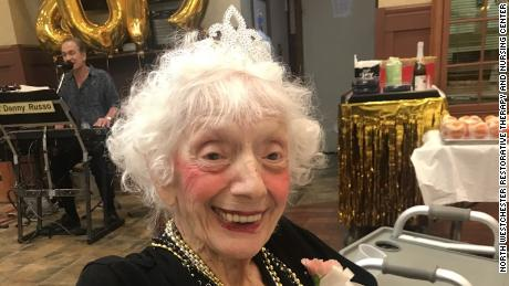 Angelina Friedman got a big party for her 101st birthday and was crowned prom queen at her nursing home last year.