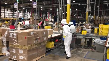 Amazon insists sharing data on coronavirus cases in its warehouses isn't useful