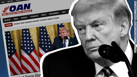 Meet OAN, the tiny right-wing news channel that Trump keeps promoting
