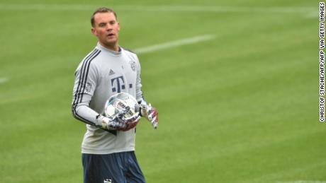 Neuer è in corsa per vincere un ottavo consecutivo in Bundesliga.