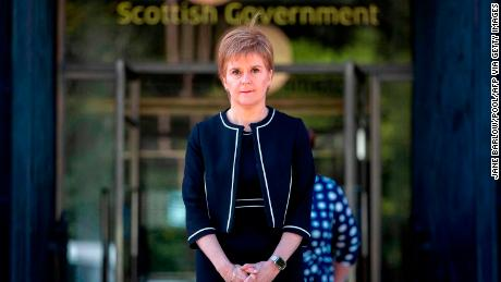 Scotland's First Minister Nicola Sturgeon