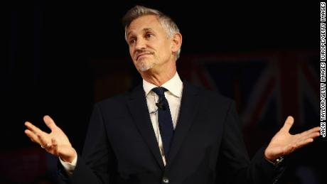 Gary Lineker has applied to home a refugee in his own house.