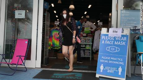 WHO calls on nations to encourage the public to wear fabric face masks where coronavirus is spreading