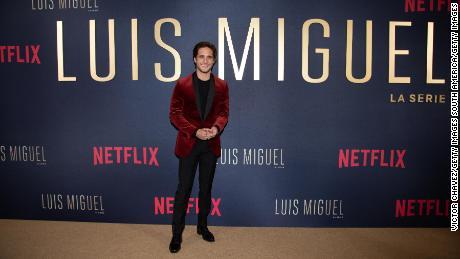 Diego Boneta & quot;  Luis Miguel & quot;  Premiere at Cinemax Antara on April 17, 2018 in Mexico City.