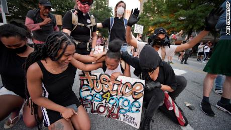 As America sees another night of protests and curfews, families of those killed plea for no more violence
