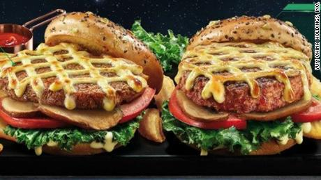 Beyond Meat brings its plant-based burgers to KFC and Pizza Hut in China