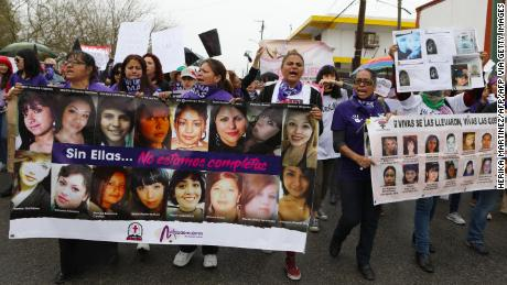 Women are being hit at record rates in Mexico, but the president says most emergency calls are false & # 39;