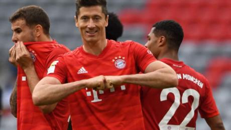 Robert Lewandowski ha segnato 30 gol in Bundesliga in questa stagione.