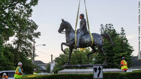 Confederate statues are coming down following George Floyd's death. Here's what we know