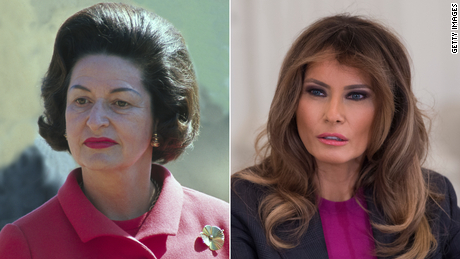 Revisiting Lady Bird Johnson's whistle-stop tour and what Melania Trump isn't using the first lady's office for