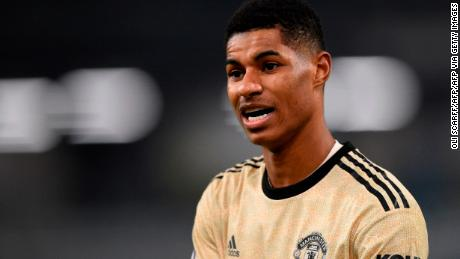 Marcus Rashford calls on UK lawmakers to 'find humanity' and combat child hunger