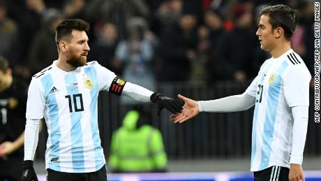 Paulo Dybala and Lionel Messi have been Argentina teammates since 2015.