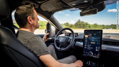 With new technology that will be offered next year, Ford Mustang Mach-E drivers will be able to drive hands-free on many highways.