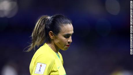 Marta is a six-time FIFA World Player of the Year.