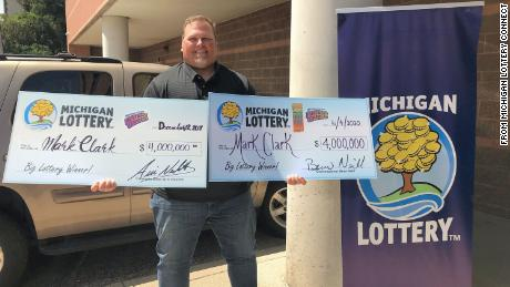 A man wins a $4 million lottery jackpot — for the second time