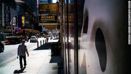 Broadway will remain dark for the rest of the year