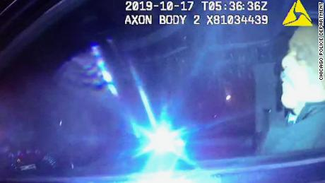 Newly released body camera footage shows former Chicago Police superintendent asleep at the wheel