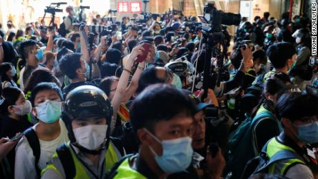 Hong Kong's security law could deter press freedom