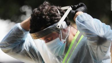 Frontline workers wearing PPE still at more than three times the risk of Covid-19 infection, new study finds