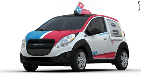 'Soda bombs' and 'pizza security': lessons in building a car for Domino's
