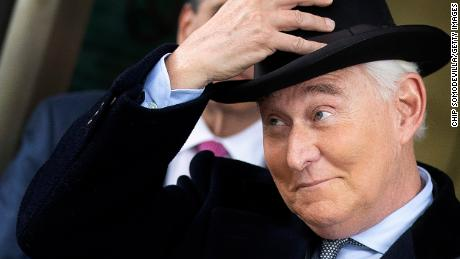 The Justice Department is eyeing a change in Roger Stone's sentence