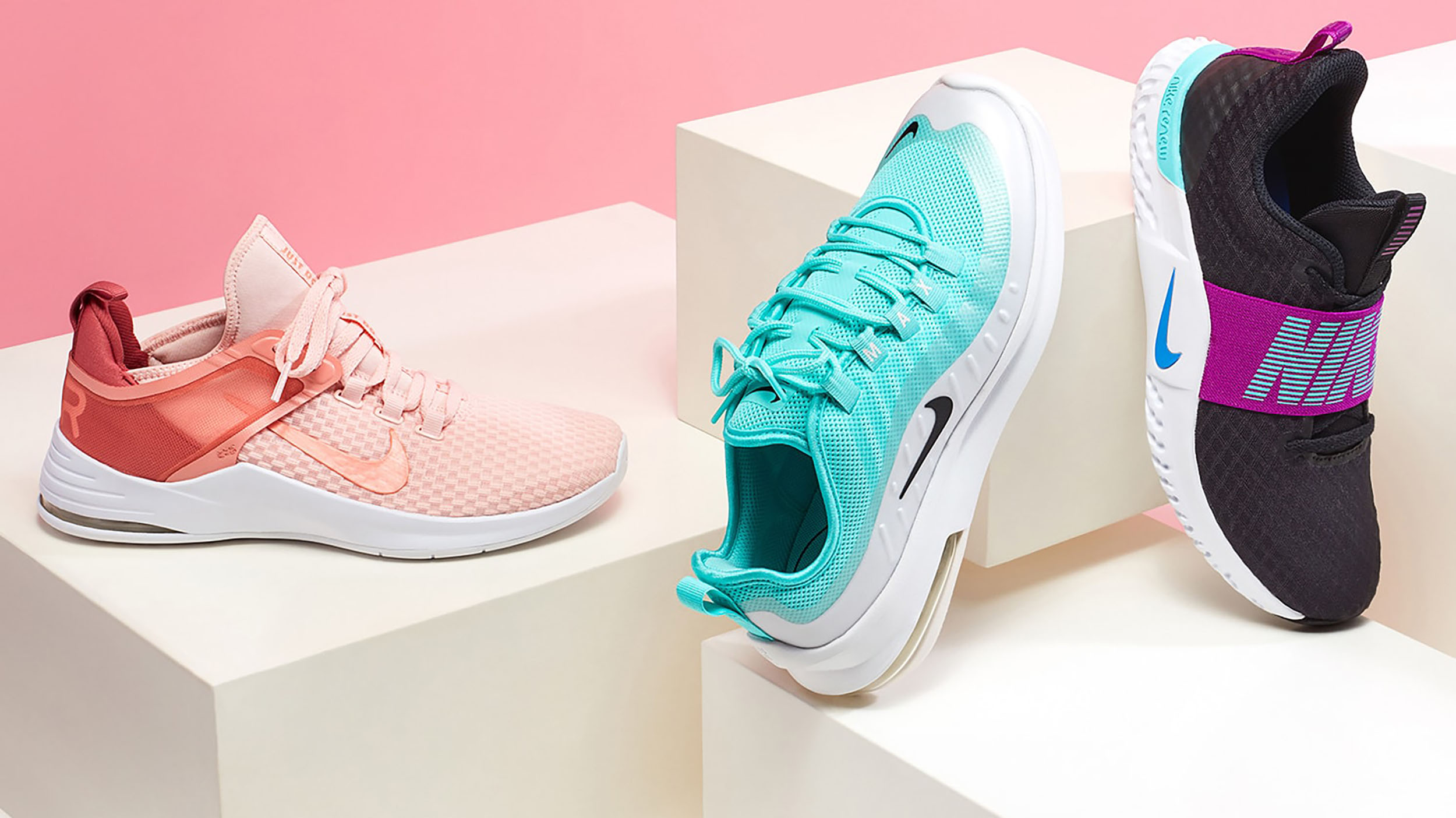 activewear and shoes at nordstrom rack