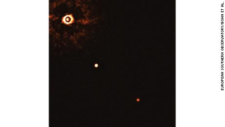 First image of 2 exoplanets orbiting a sun-like star captured by scientists