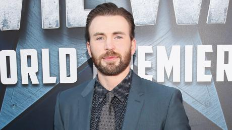 """Chris Evans at the world premiere of Marvel's """"Captain America: Civil War"""" at Dolby Theatre in 2016 in Los Angeles."""