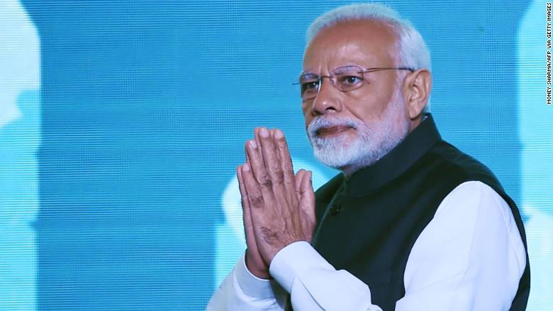 El primer ministro indio, Narendra Modi, ha respaldado durante décadas la construcción de un templo hindú en un sitio controvertido en Ayodha.