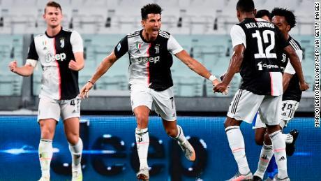 Cristiano Ronaldo scores as Juventus wins ninth straight Serie A title