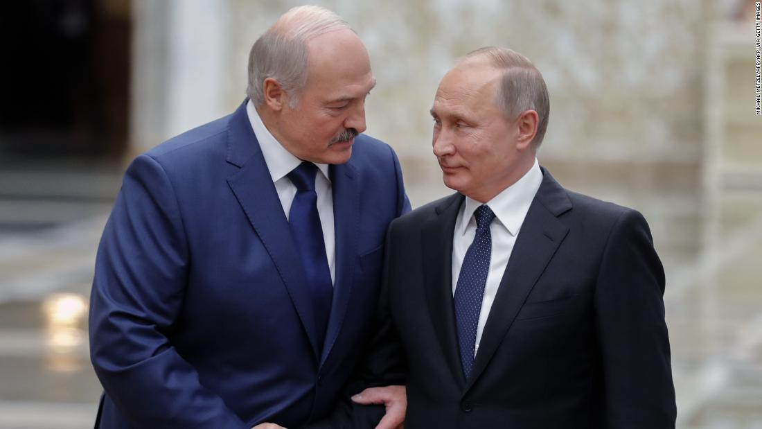 Belarus: The choices facing Putin are all fraught with risk - CNN