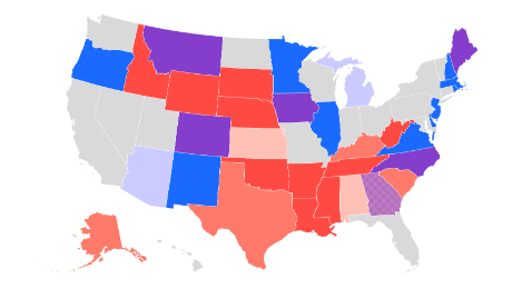 Three charts that show how Republicans are losing their chance to hold the Senate