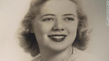 A photo of Judy Parsons after her graduation from the Carnegie Institute of Technology in 1942. The following year, Parsons was one of thousands of women who joined the Navy's new WAVES division.