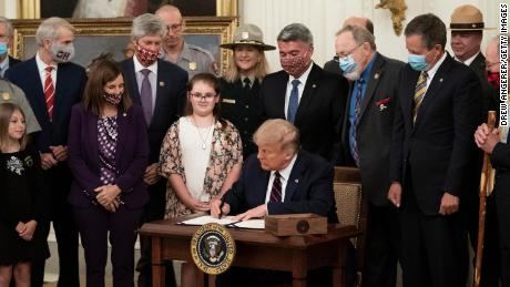 Trump signs conservation fund legislation that will aid national parks