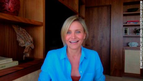 """Cameron Diaz appeared on """"The Tonight Show Starring Jimmy Fallon"""" in August 2020."""