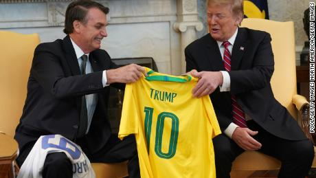 How a yellow jersey is dividing Brazil