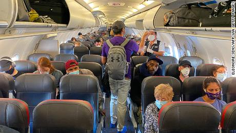 Chances of catching Covid-19 on a plane are slimmer than you think, scientists say