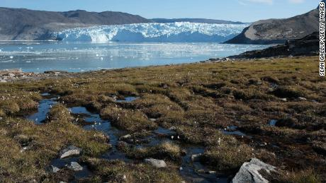 Greenland's ice sheet -- which contains enough water to raise global sea levels by 24 feet -- is melting as fast as at any time in the last 12,000 years, a new study finds.