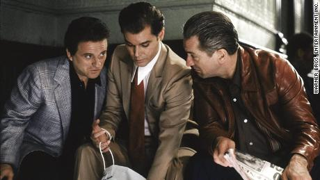 "(From left) Joe Pesci, Ray Liotta and Robert De Niro play mob partners in the iconic ""Goodfellas."""