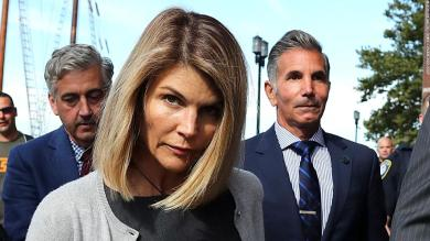 Lori Loughlin sentenced to 2 months in prison in college admissions scam. Her husband, Mossimo Giannulli, got 5 months