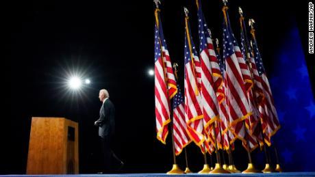 Joe Biden takes on Trump-era traumas in career-defining speech