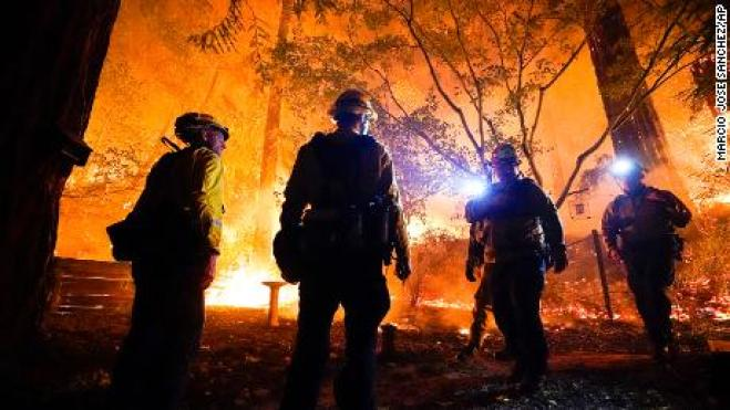 California wildfires scorch more than 1 million acres with no end ...