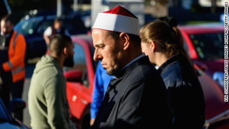 Imam Gamal Fouda of Al Noor Mosque after a meeting on June 28, 2019 in Christchurch, New Zealand.