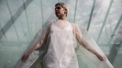 Future design: What 'living' clothes can do to absorb carbon emissions