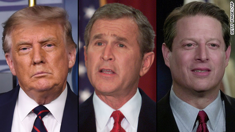 Trump called Bush v.  Gore revived in crusade against mail-in voting