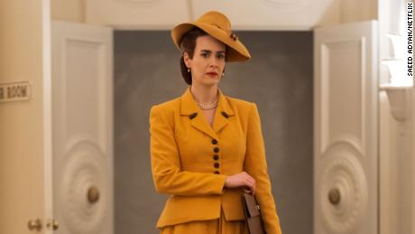 """Sarah Paulson stars as nurse Mildred Ratched in the Netflix series """"Ratched."""""""