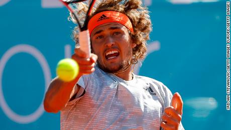 """Alexander Zverev says the """"younger guys"""" now have a better chance of winning a slam."""