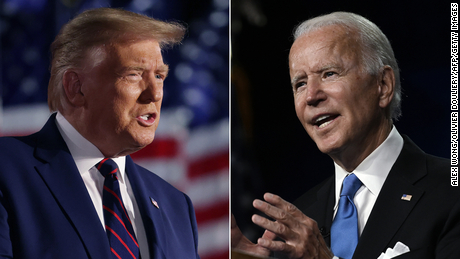 Biden hits Trump where it hurts: in convention speech ratings